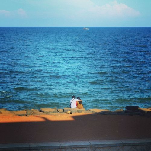 Love Beach Pondy RockBeach Random Peace