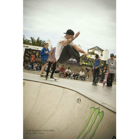 @angel_beer para Korner Street en el Vans Skate Fest de San Antonio, Puerto de la Cruz. Vans Skate Sport Extremsport bowl air PuertoDeLaCruz tenerife Canarias canaryisland @skateboardcanarias