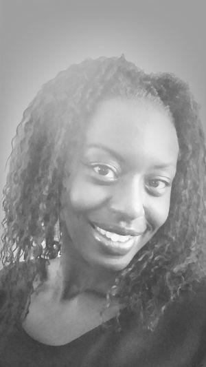 Black & White Self Portrait Lesbian Love  Happy Sunday
