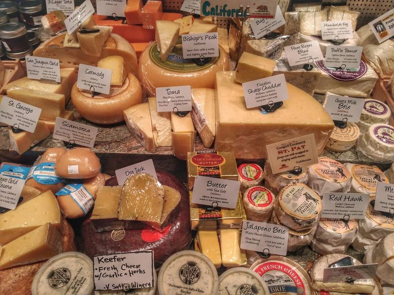 Say cheese! Cheeses Saycheese Cheese Butter Enthusiast Food Wine Napa Valley Tourism Love Text Variation For Sale Large Group Of Objects Full Frame Communication No People Market Indoors  Day