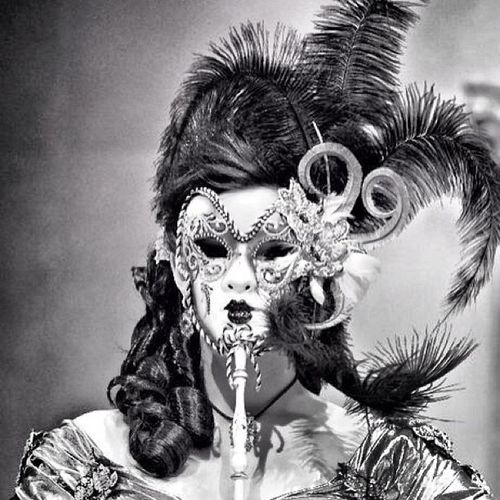 """La Mascara"" Laredo LaredoTx Wbca Marthawashington women mask art"