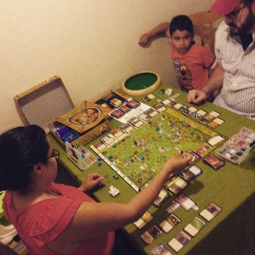 Boardgames Runebound @nessr3 is hooked!
