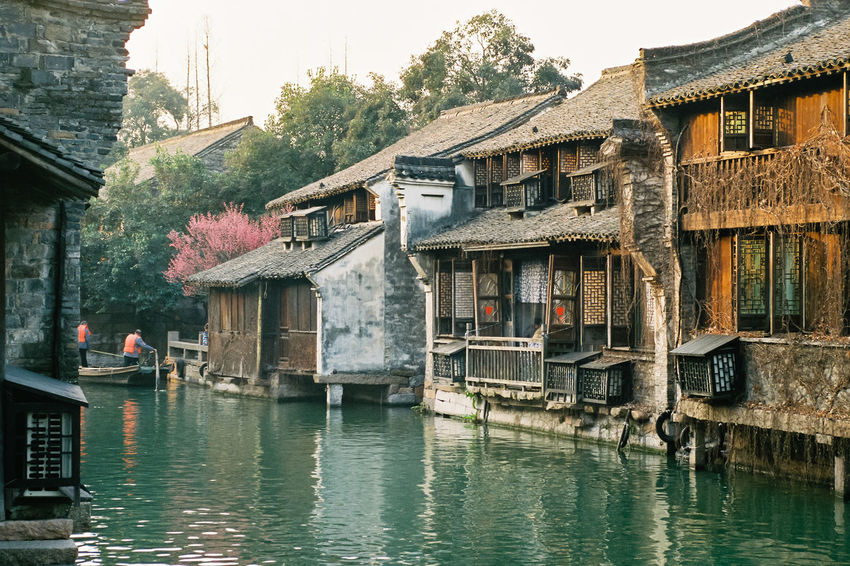 Agfa Agfavista400 Ancient Architecture Architecture Architecture Building Exterior Built Structure Chinese Culture Day Film Film Is Not Dead Film Photography Filmisnotdead House Minolta No People Outdoors Sky Traditional Architecture Village Water