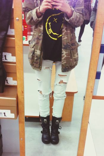 Newrockshoes Newrock Nirvana Grunge Today's Hot Look Odtt Taking Photos That's Me