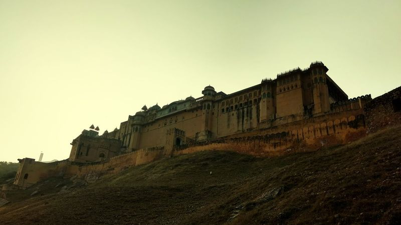 History Ancient No People Outdoors Architecture Memories Courtyard  Historic Jaipur Rajasthan Travel Destinations Built Structure Architectural Feature Amerfortjaipur Amer Fort Jaipur Amer Fort