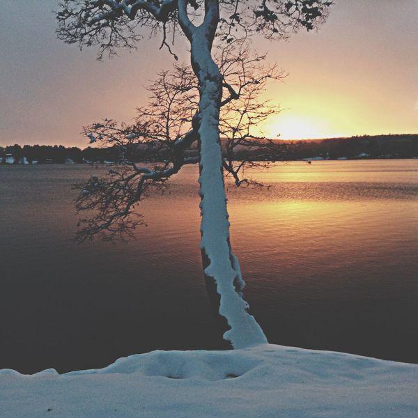 sunset at the lake Lakevilect