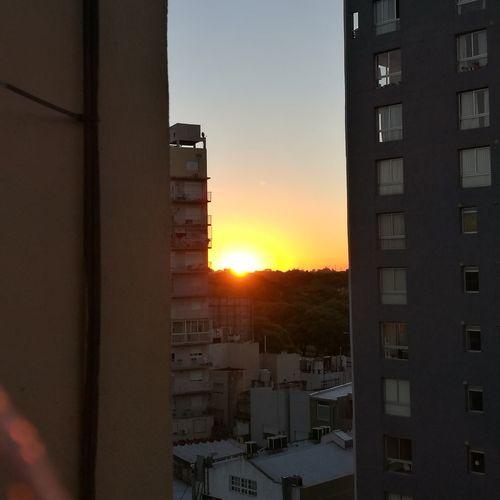 Atardecer de Chacarita Argentina Photography Chacarita Ciudad Autónoma De Buenos Aires Argentina🇦🇷 Business Finance And Industry Sun Sunlight Building Exterior Sky City Window Residential Building Outdoors Apartment