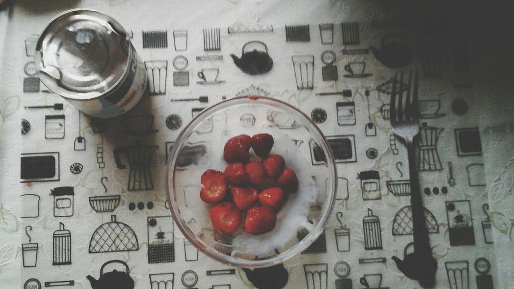 Fresas Con Crema C: Riquisimo ?