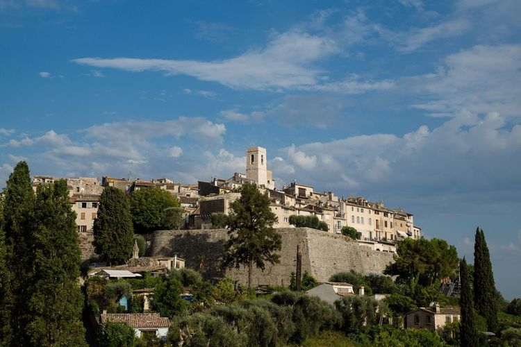 Provence Architecture History Built Structure Building Exterior Old Ruin The Past Cloud - Sky