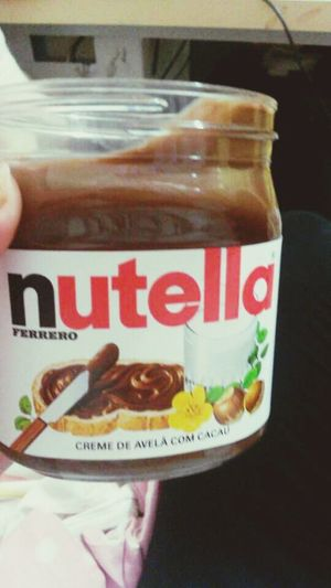 Chocolate I Love You And Nutella Delicious Food Love
