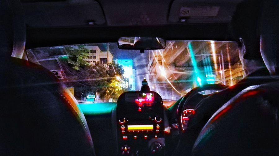 Taxi Driver Car