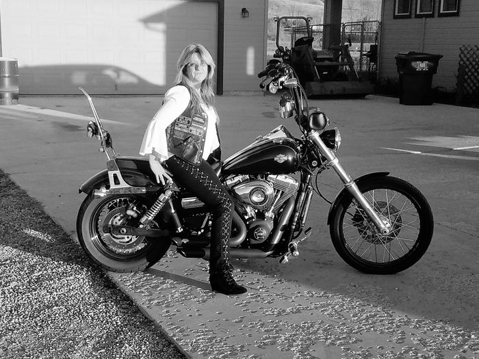 ready to ride Let's Roll.......