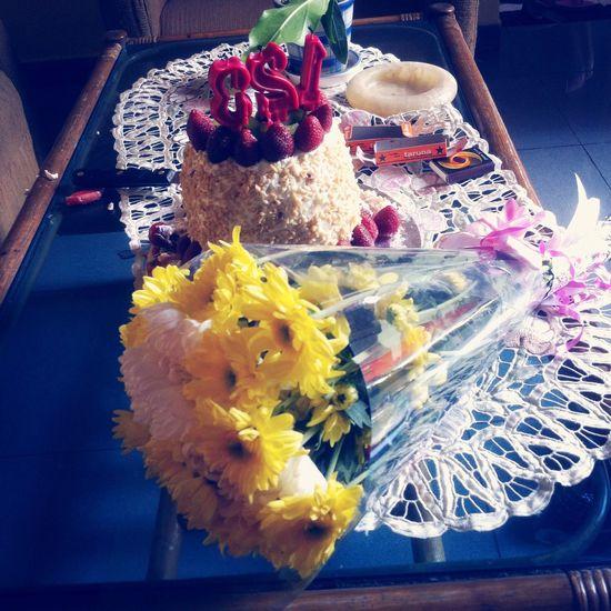 Flowers Cake Sweet Birthday