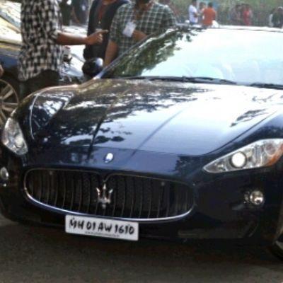 Maserati MASERATI Speed Luxury Power Supercar Scc ParxSuperCarShow2014 Instacar Instapic Instashare Instamumbai Mumbai India Nikon InstagramSucksInCroping