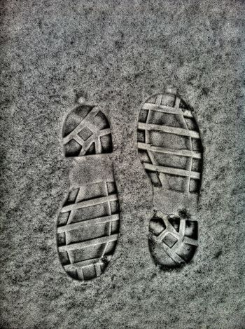 bd No People Shoe Pair High Angle View Two Objects Sport Close-up Land Day Absence Outdoors Sand Sports Equipment Nature Dirt Directly Above Ball Still Life Textured  Snow