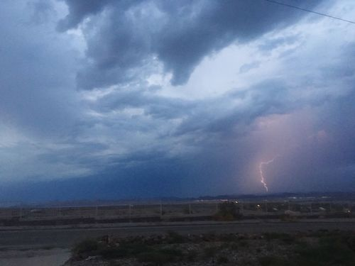 The Journey Is The Destination Lightning Storm Monsoon Season Desert Beauty
