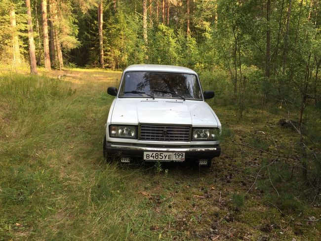 Beauty In Nature Forest Mode Of Transport Tourism Tree Vaz Vaz2107 Vehicle First Eyeem Photo