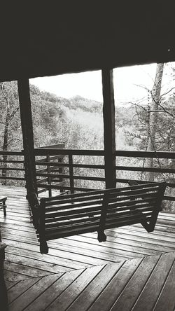 Cabin Swing Porchswing Log Cabin Gaitlynburg Black&white Vacation Showcase: February From My Point Of View Mountaintop Mountain View Nature Photography Smoky Mountains