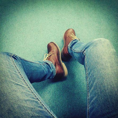Simple as jeans n boots.. Feet Work Wawan