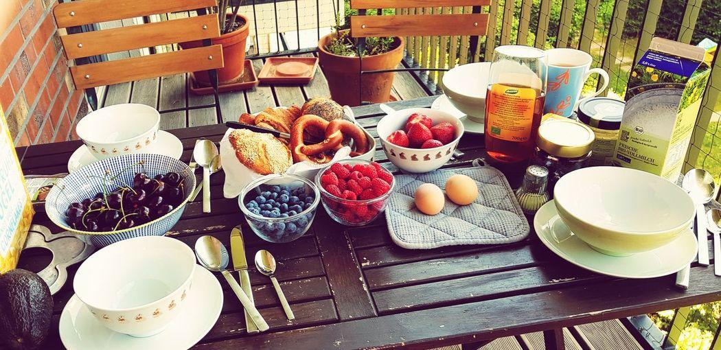 Saturday breakfast Followme Breakfast Saturday Breakfast Plate Fruit Table Variation Choice Drink High Angle View Dessert Bowl Sweet Food