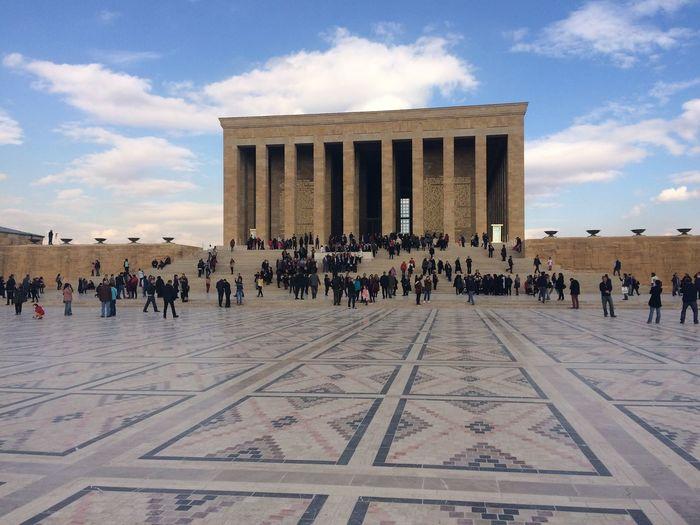 Anıtkabir Crowd