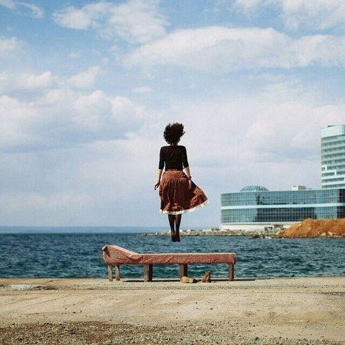 Relaxing Popular Photos Taking Photos Enjoying Life Vladivostok Sea And Sky Portrait Girl Photography Followme