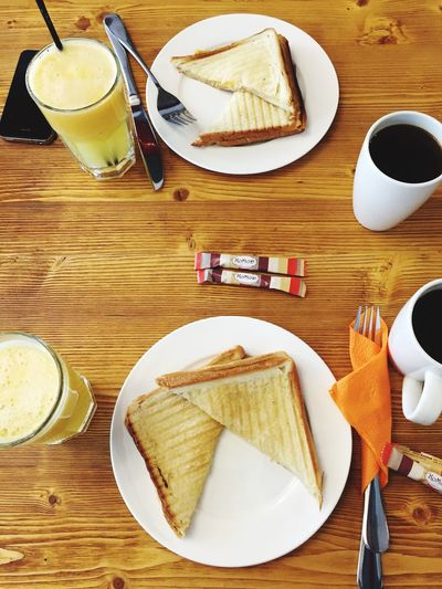 Good Morninging!] Coffee Time Breakfast Enjoying A Meal Feeling Cozy Sunday Morning Eating Out