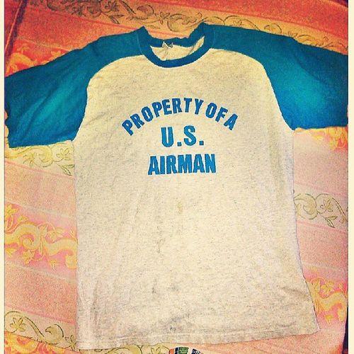 New shirt bili ko from ukay-ukay tag P30 lng gyud, ganahan ko as in ..pwede na pang washday hahaha Instashirt Igers Instapic Sat 71312