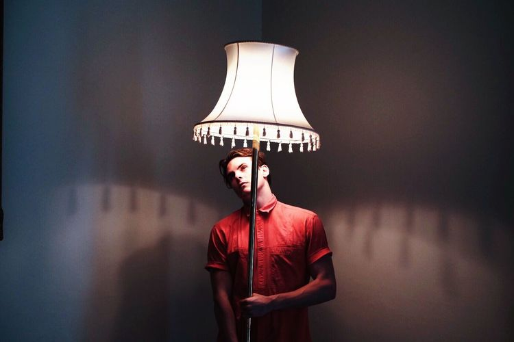 There's something with this lampshade 2/3 Fashion South Africa Portrait