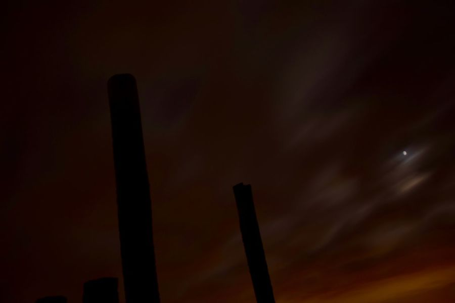 Beauty In Nature Illuminated Low Angle View Nature Night No People Outdoors Sky
