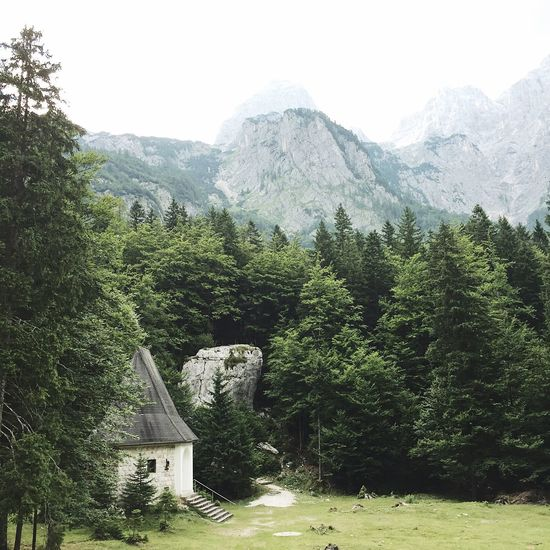 Slovenia Triglav National Park Triglav Mountain Mountains Nature