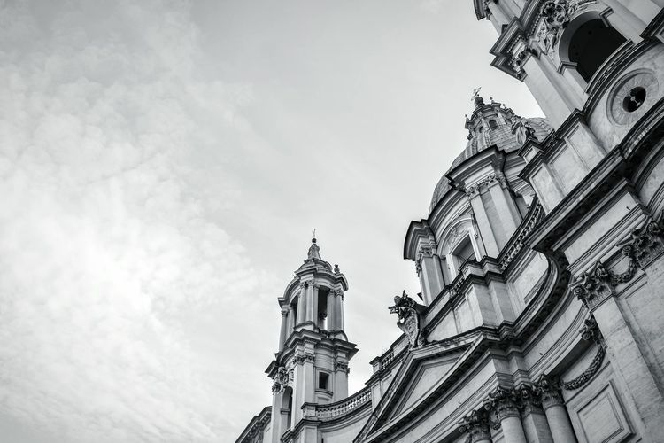 Sant'Agnese in Agone, Rome, Italy - August 2017 Architecture Travel Destinations Built Structure Building Exterior No People Outdoors Day The Week On EyeEm Piazza Navona Borromini Rome Italy Moving Around Rome
