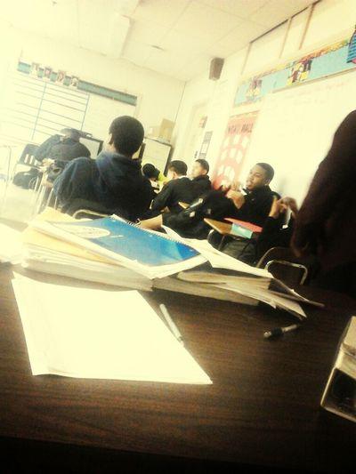 My Class View .! Lmao Lames