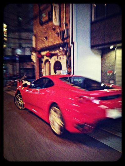 Ferrari Going Nowhere Fast