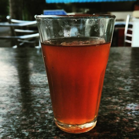 Lemontea Drink Refreshment Drinking Glass No People Food And Drink Table Close-up Cold Temperature Freshness Day
