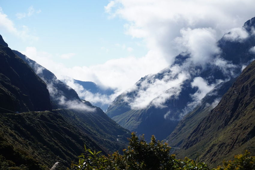 Beauty In Nature Boliche Day La Habana Landscape Mountain Nature No People Outdoors Range Scenery Scenics Sky Yungas Yungas Road