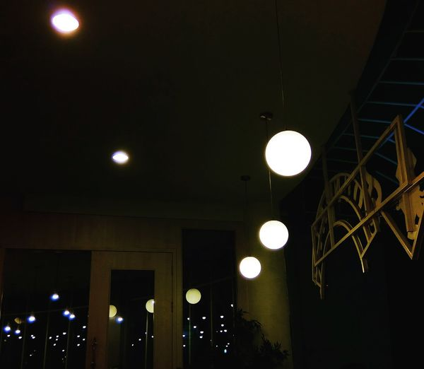 Reflection Photography Low Angle View Abstract Illuminated Lighting Equipment Light Bulb Electric Light Filament Light Fixture Ceiling Light  Lamp Hanging Light Light Planetary Moon Ceiling EyeEmNewHere