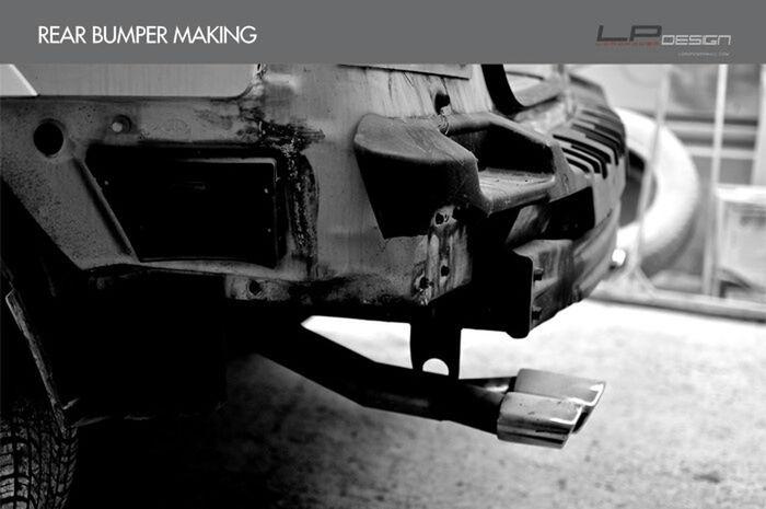 나만의 차를 완성하는 곳_로드파워디자인 LORDPOWER DESIGN Kia Sorento Kia Sorento Full Body Kit Aeroparts Rear Bumper Making