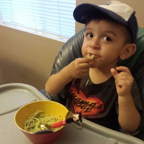 Just like daddy, Noah loves his Tallerines Verdes!! Tallerinesverdes Noahnoah Camposfamily Photooftheday tagsforlikes chefcampini peruvianmealoftheday peru wishiwasinlima delicious