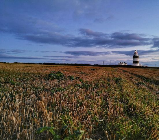 Sunset, moonrise, lighthouse, sea, wind, wave what more does a girl need 🤔 Hook Lighthouse Hook Head Hook Head, Ireland Wexford Ireland Ireland🍀 Lighthouse Agriculture Field Sunset Cloud - Sky Landscape Outdoors Beauty In Nature No People Sea Dusk Sky Lighthouse_lovers Lighthouse_captures Huawei P10 Plus EyeEmNewHere Coastal Feature Lighthouse Point Long Exposure Shot Coastline Landscape Lıghthouse Lost In The Landscape