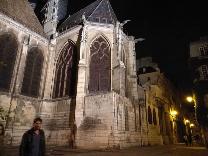 Architecture Religion Outdoors Church Night Architecture Building Exterior Built Structure Religion Religion Spirituality Place Of Worship Night Church Low Angle View Religion History Illuminated Column Outdoors Façade Historic Medieval