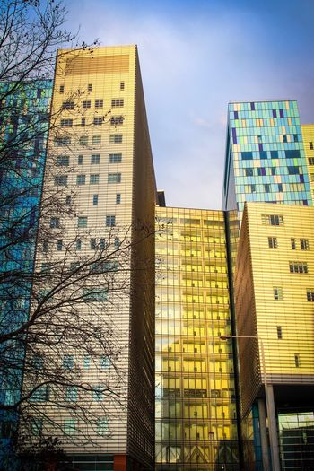 Royal London Hospital Architecture Built Structure Building Exterior Low Angle View Day Outdoors No People Sky