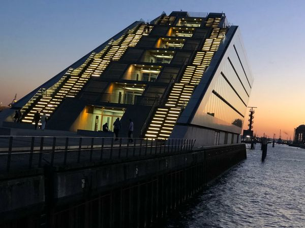 Steps to heaven Architecture Built Structure Sky Building Exterior Sunset