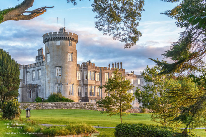 dromoland castle in county clare ireland. famous irish tourist attraction open to the public. Architecture Building Exterior Built Structure City County Clare Day Dromoland Dromolandcastle Grass Ireland Ireland Castles Nature No People Outdoors Sky Tree
