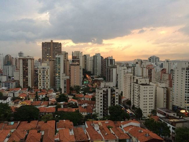 SAO PAULO BRAZIL Architecture Building Exterior Built Structure City Cityscape Cloud - Sky Day Growth Modern No People Outdoors Residential Building Sky Skyline Skyscraper Sunset Tall Travel Destinations Urban Skyline