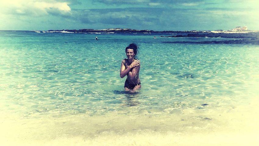Enjoying The Sun Swimming Sunshine Relaxing Holidays