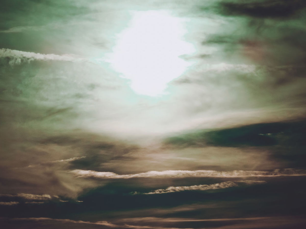 Endless sky Cloudscape Endless Beauty In Nature Cloud - Sky Clouds Cloudscape Day Defocused Dramatic Sky Idyllic Low Angle View Majestic Nature No People Ominous Outdoors Overcast Scenics - Nature Sky Sunlight Sunset Tranquil Scene Tranquility