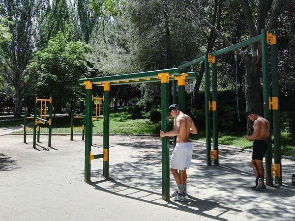 Streetworkout Calistenicos Calistenics Madrid Parque  Park