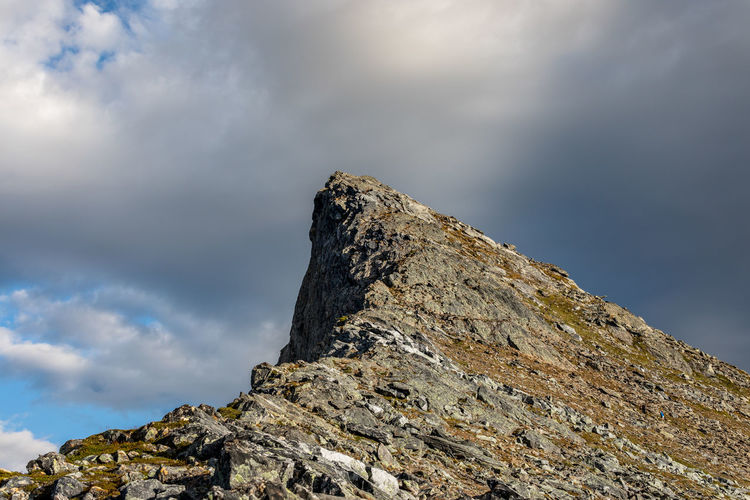Autumn Copy Space Hiking Northern Norway Norway Target Wanderlust Allmost Beauty In Nature Cloud - Sky Day Fall Low Angle View Mountain Mountain Range Nature No People Nordland County Outdoors Physical Geography Ridge Rock - Object Scenics Sky Summit Perspectives On Nature