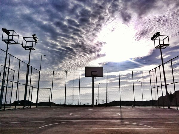 Basketball Clouds And Sky Everyday Lives What Does Freedom Mean To You?